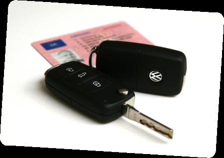 Kørekort / Køreskole Vejen og VW Bilnøgle
